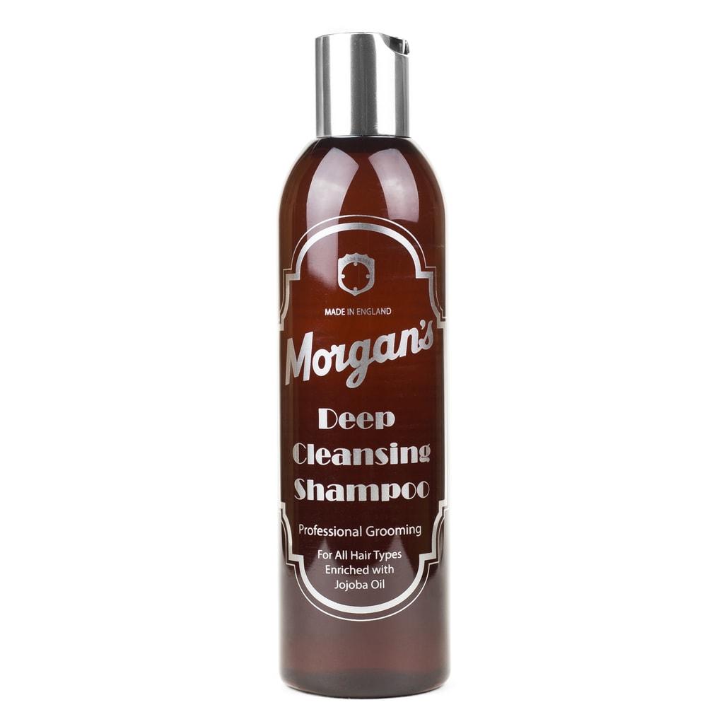 Gentleman Store - Hĺbkovo čistiaci šampón na vlasy Morgan s (250 ml ... eb0e1f36aab